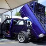 Camionete preparada para garantir o som (Foto: Divulgação)