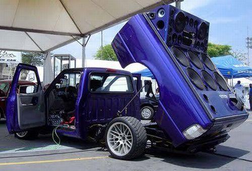 Fotos de caminhonetes equipadas com som 30