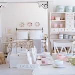 As decorações shabby chic são feitas com mobílias antigas e gastas (Foto: divulgação).