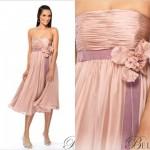 Os tomara que caia são ótimas opções para vestidos longuetes (Foto: divulgação).