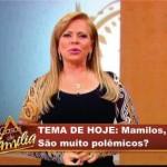 Discutindo sobre os mamilos (Foto: Divulgação)