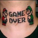 Tattoo um tanto inusitada, mas criativa. (Foto:Divulgação)