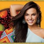 A atriz Ísis Valverde é a estrela que lança a nova coleção de verão da Mississipi (Foto: divulgação).