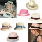 Os chapéus podem ser usados na composição de vários visuais. (Foto: divulgação)