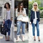 Os jeans cropped também são ótimas opções para o verão 2013. (Foto: divulgação)