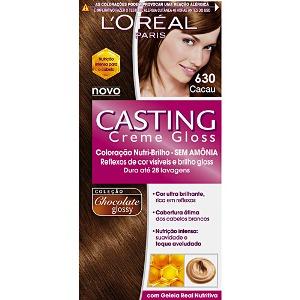 Casting Creme Gloss para os cabelos