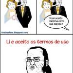 Casamento abordado com bom humor pelos memes.(Foto:Divulgação)