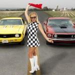 Camaro vs Mustang (Foto: Divulgação)