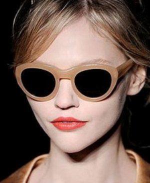Óculos de sol para rosto fino