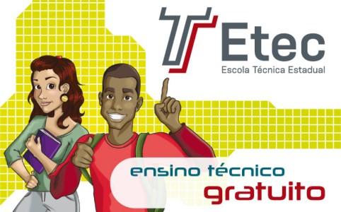 Calendário processo seletivo ETEC 2013, datas