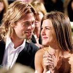 Brad Pitt e Jennifer Aniston. (Foto: Divulgação)
