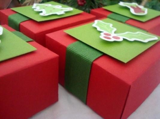 Aprenda a fazer embalagens para presentes de Natal. (Foto: Divulgação)