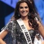 Gabriela Markus no concurso nacional de miss. (Foto:Divulgação)