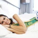 Depois de receber o título de Miss Brasil, Gabriela mal conseguiu dormir. (Foto:Divulgação)