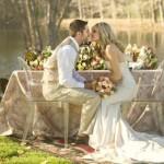 A natureza combina com o estilo americano de casamento. (Foto:Divulgação)