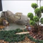 As cascatas são indispensáveis para os jardins japoneses. (Foto: divulgação)