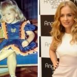 Angélica loirinha e linda quando criança. (Foto:Divulgação)