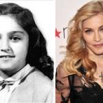 Madonna também já foi criança. (Foto:Divulgação)
