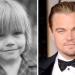 Leonardo Dicaprio na infância. (Foto:Divulgação)
