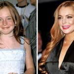 Lindsay Lohan era uma ruivinha cheia de sardas. (Foto:Divulgação)