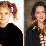 Drew Barrymore foi revelada pelo filme ET ainda na infância. (Foto:Divulgação)