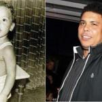 Ronaldo Fenômeno quando era um bebê. (Foto:Divulgação)