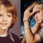 Eminem quando criança. (Foto:Divulgação)