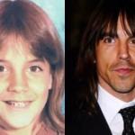 Anthony Kiedis já tinha cabelo comprido na infância. (Foto:Divulgação)