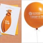Balão se transformou em convite. (Foto:Divulgação)