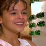 Em América, Bruna viveu Flor, uma menina que nasceu com deficiência visual (Imagem: Divulgação)