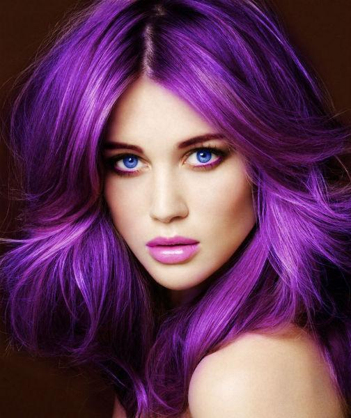Como pintar o cabelo com violeta genciana