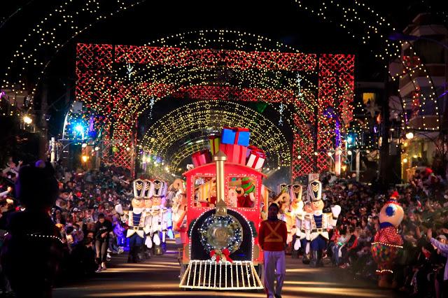Gramado iluminada para o Natal (Foto: Divulgação)