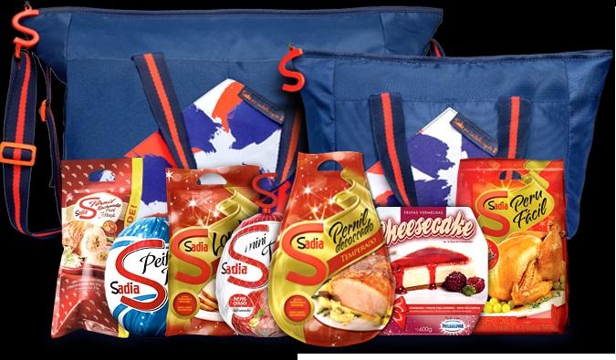 Kits de Natal da Sadia 2016 (Foto: Divulgação)