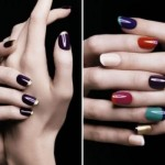 O efeito colorido invadiu as unhas francesinhas. (Foto:Divulgação)