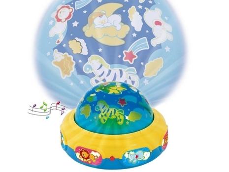 Abajur Musical Dreamlight por R$ 84,99. (Foto:Divulgação)
