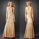 O vestido é discreto e elegante. (Foto:Divulgação)
