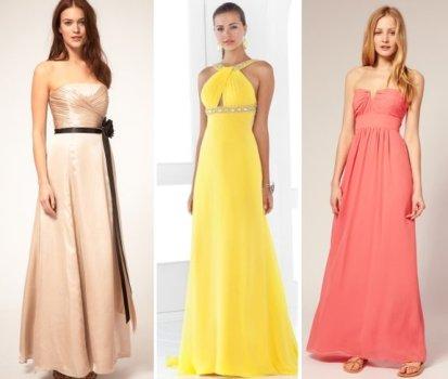 Os modelos de vestidos de formatura variam quanto aos recortes, cores e acabamentos. (Foto:Divulgação)