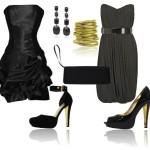 Modelos sofisticados de vestidos pretos para o Natal (Foto: Divulgação)