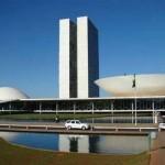 Na Praça dos Três Poderes, de 1960, os edifícios representam o Executivo, o Judiciário e o Legislativo (Foto: Divulgação)