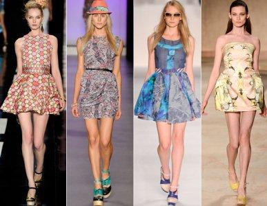 Vestidos acinturados: modelos, dicas