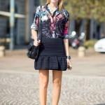 Look muito feminino com camisa e saia (Foto: Divulgação)