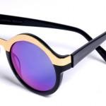 O metalizado está na moda, assim como as lentes redondas (Foto: Divulgação)