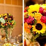 O girassol pode ser mesclado a outras flores. (Foto:Divulgação)
