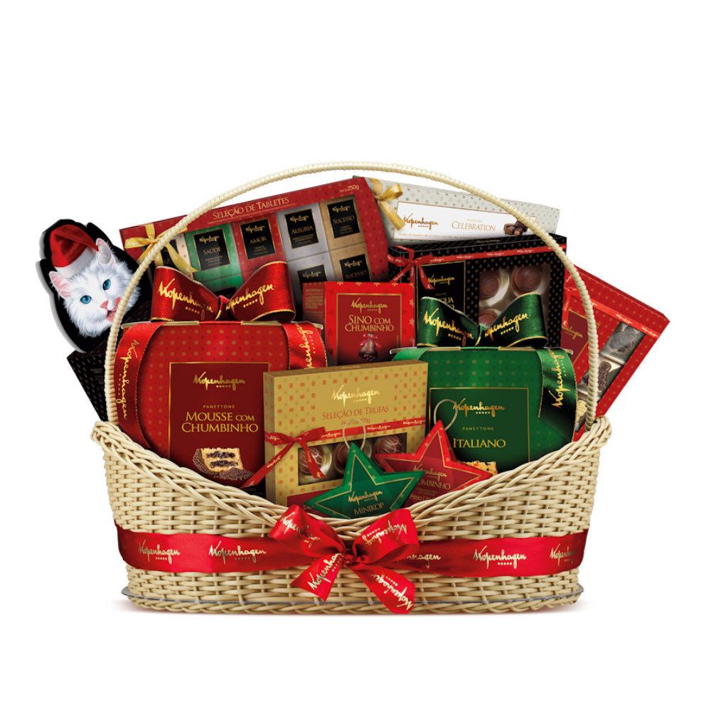 Monte uma linda cesta de Natal (Foto: Divulgação)