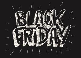 Descontos de até 90% na Black Friday