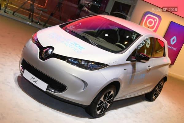 Os carros mais econômicos segundo o Inmetro Renaut Zoe