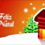Desejando Feliz Natal aos amigos (Foto: Divulgação)