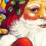 Papai Noel chegando (Foto: Divulgação)