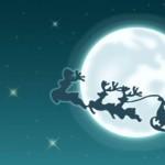 Papai Noel a caminho (Foto: Divulgação)