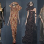Os vestidos de inverno 2013.  (Foto: divulgação)